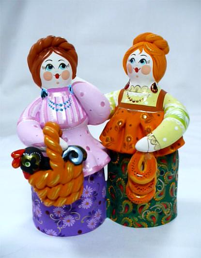Фабрика Ковровская глиняная игрушка